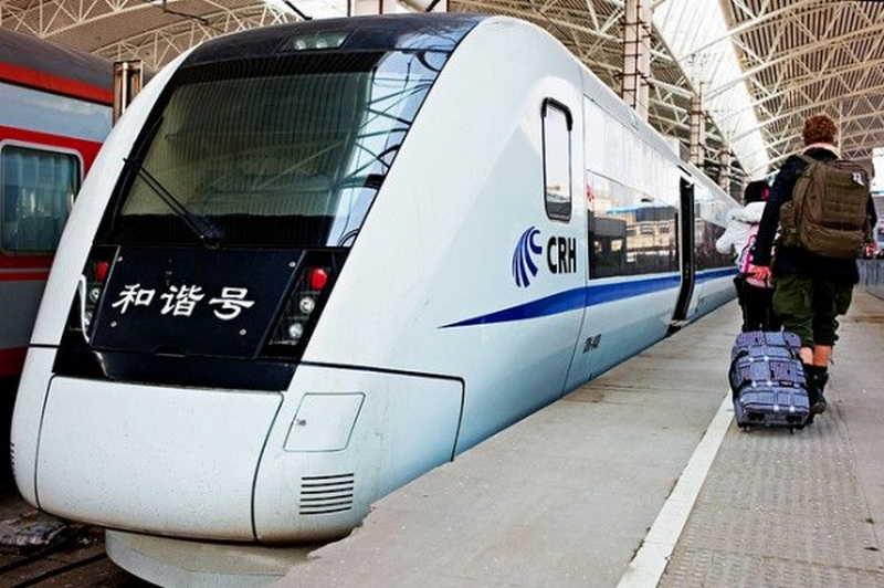 Китайские высокоскоростные поезда